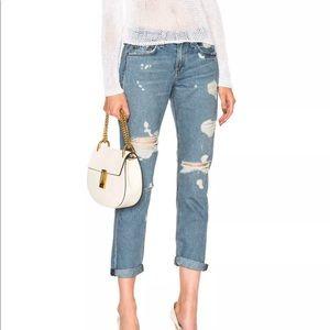 Rag & Bone Beckers Boyfriend Jeans size 25 new
